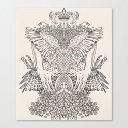The Ravenous Canvas Print