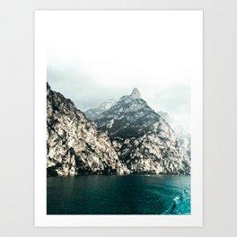 Lake Garda. Art Print