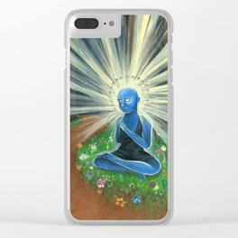 Enlightened One Clear iPhone Case