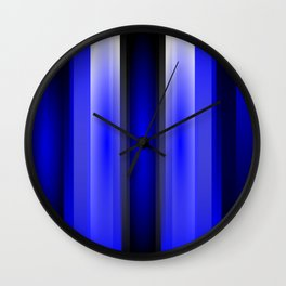 In the blue light Wall Clock