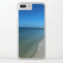 Fort Myers Beach November 2017 Clear iPhone Case