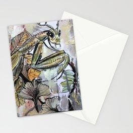 Peace, mantis Stationery Cards