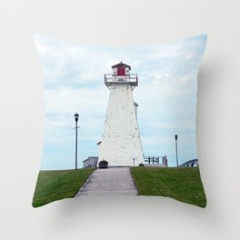 Marine Rail Park Range Light Throw Pillow