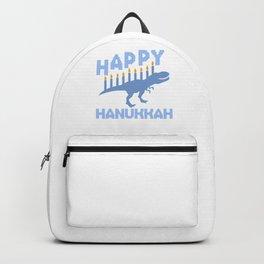 Dinosaur Hanukkah Jewish Festival Gift Backpack