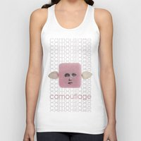 camouflage Tank Tops featuring Camouflage by fabiotir
