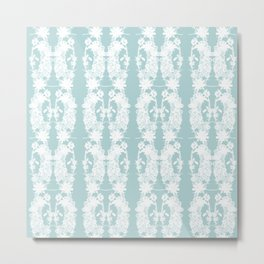 Paige McCann-Gray, Surface Pattern Designer. Heather and Crystal Collection No: 2 Metal Print