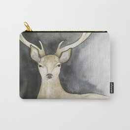 Charcoal Stag Carry-All Pouch