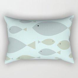 Undersea Fish Rectangular Pillow