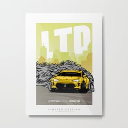 FD GT86/FRS/BRZ Limited Edition Print by PowellRacing Metal Print