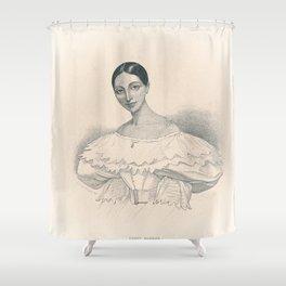 Portrait of Ballerina Shower Curtain