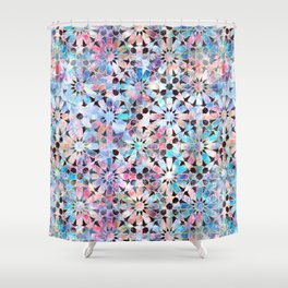 Hara Tiles Multi Shower Curtain