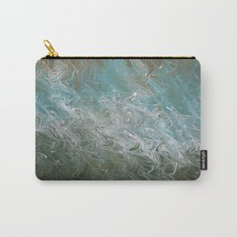 Wavy Mirage Water Marbling Carry-All Pouch