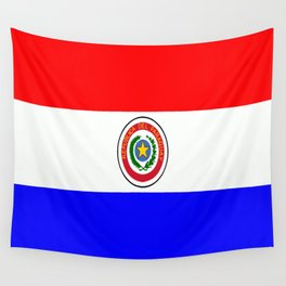 Flag of Paraguay Wall Tapestry