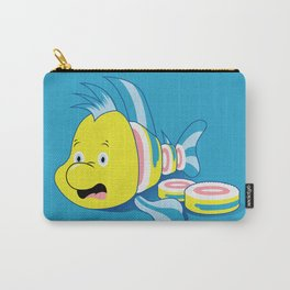 Flounder Sushi Carry-All Pouch