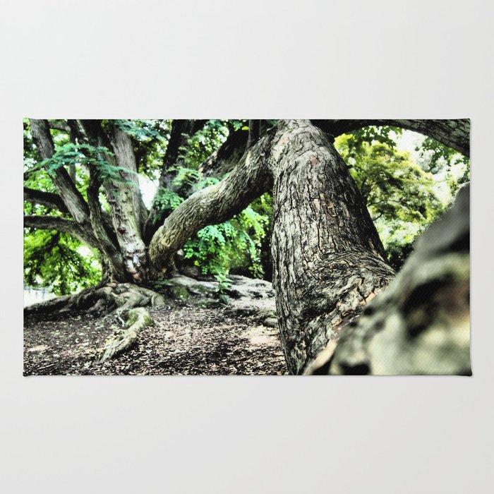 Tree Selfie Rug