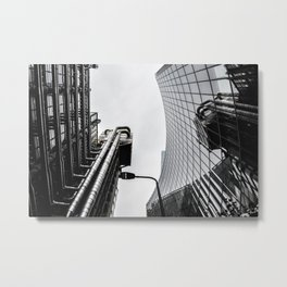 ArWork black white london art work photo Metal Print