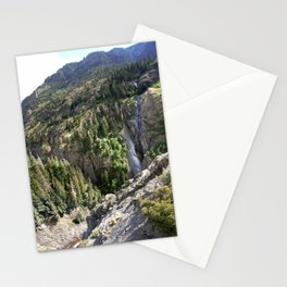 The Uncompahgre Gorge - From the Base of Bear Creek Falls Stationery Cards