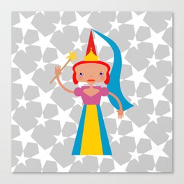 Fairy with wand Canvas Print
