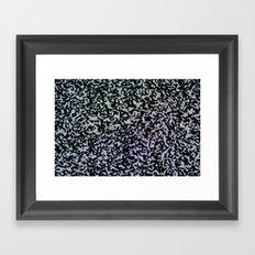 dead channel Framed Art Print