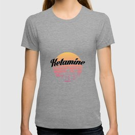 Ketamine drug   retro vintage art work T-shirt
