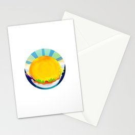 Wheel Series : Summer Solstice Medallion Stationery Cards