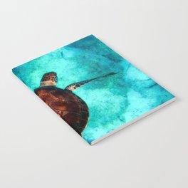 Marine sea fish animal Notebook