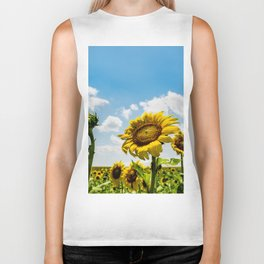 Always Face The Sun Biker Tank