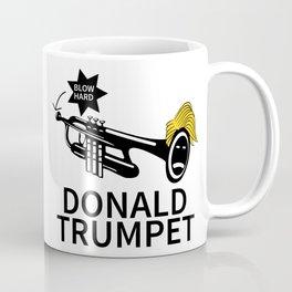 Donald Trump Trumpet Coffee Mug