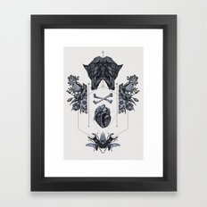 The Panoply Plate 03 Framed Art Print