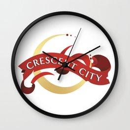 Crescent City Wall Clock