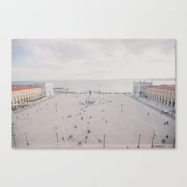 Urban Silence Canvas Print