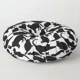 Black Cats Floor Pillow