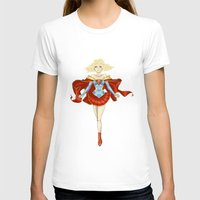 supergirl T-shirts featuring [Ame-Comi] Supergirl by Batcheeks