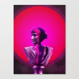Vaporwave Glow Canvas Print