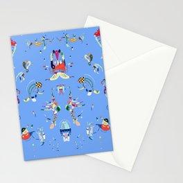 Kandinskij Blue sky fashion Stationery Cards
