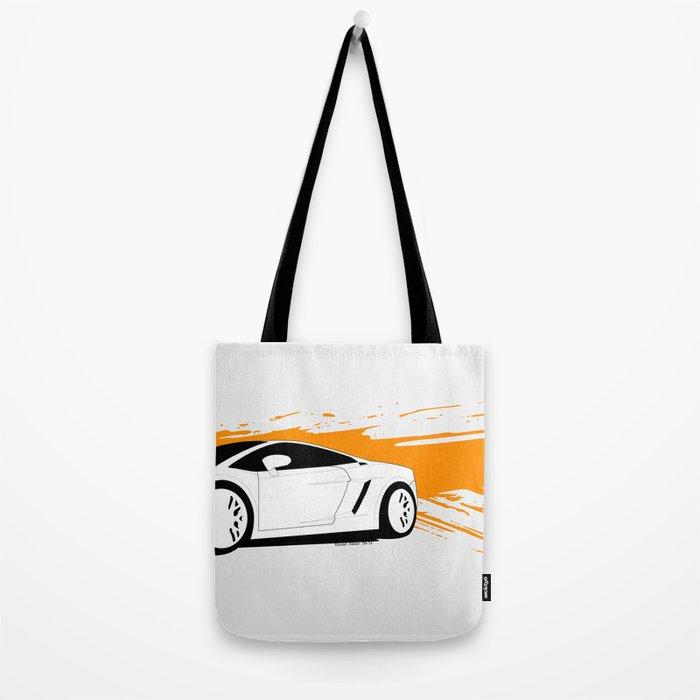 Lamborghini Gallardo Vector   Tote Bag