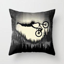 MTB Trickz S Throw Pillow