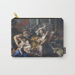 Milan - paint of Massacre of the Innocents from San Eustorgio church Carry-All Pouch