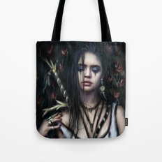 In the Rose Garden Tote Bag