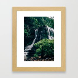 burgess falls Framed Art Print