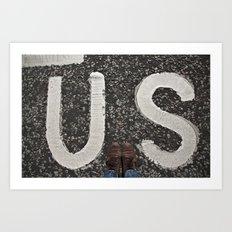 B-US-ES Art Print