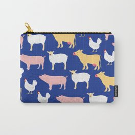 Farm Friends Carry-All Pouch