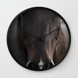 DARK HORSE Wall Clock