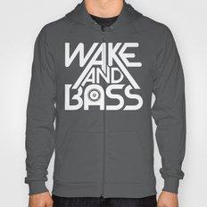 Wake And Bass (White) Hoody