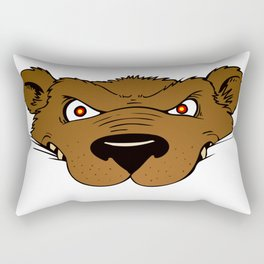 Attention Bear Rectangular Pillow