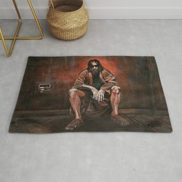 """The Dude, """"You pissed on my rug!"""" Rug"""