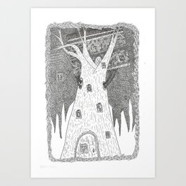 Thingthatlookslikeatreebutisnotatree Art Print