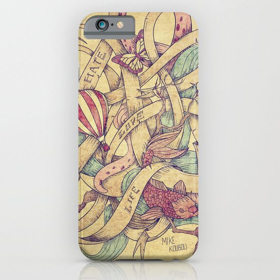 Abstract Nature | VACANCY zine | iPhone & iPod Case