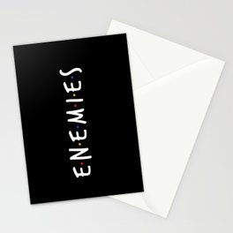 Friend/Enemies Stationery Cards