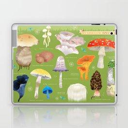 Mushroom Species Laptop & iPad Skin